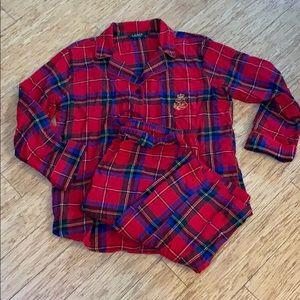 Ralph Lauren pajama flannel plaid. 100%cotton NWOT